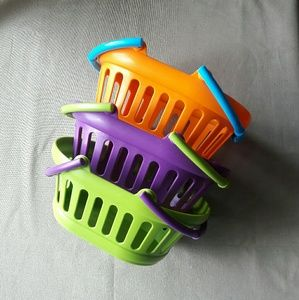 Colorful Playtime Baskets